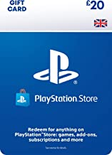 PlayStation PSN Card 20 GBP Wallet Top Up | PS5/PS4/PS3 | PSN Download Code - UK account