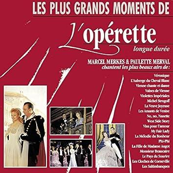 Les plus grands moments de l'Operette