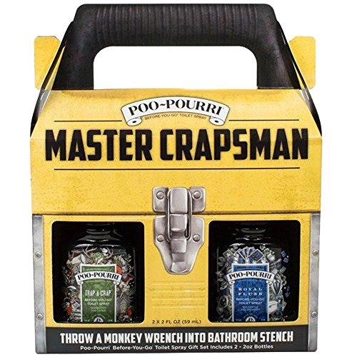 Poo-Pourri MCM-CB, 2oz, Master Crapsman Gift Set