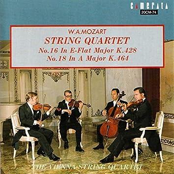 Mozart: String Quartet Nos. 16 & 18