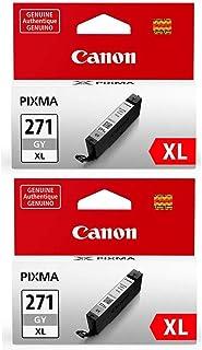 Canon 2 Pack CLI-271 XL Gray Ink Tank - 10.8ml