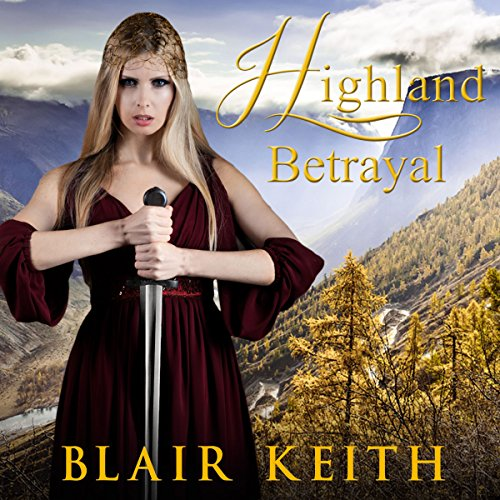 Highland Betrayal audiobook cover art