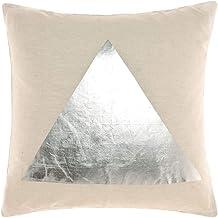 Linen House Apex Silver 50x50cm Cushion