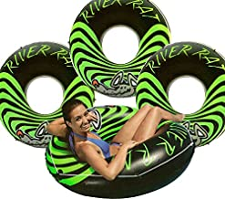 Intex 4-Pack River Rat 48-Inch Inflatable Tubes for Lake/Pool/River | 4 x 68209E