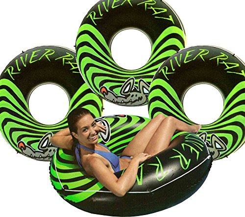 Intex 4-Pack River Rat 48-Inch Inflatable Tubes for Lake/Pool/River   4 x 68209E