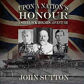 Upon a Nation's Honour - A Sherlock Holmes Adventure cover art