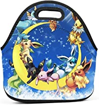 E-evee Family on The Moon Insulated Lunch Bag Lunch Box Waterproof Lunch Tote Bag for Men Women