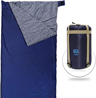 featured product HAITRAL Sleeping Bag - Lightweight Portable,  Waterproof,  Comfort With Compression Sack,  Especially Designed For Warm Weather/Summer Outdoor Activities Like Hiking,  Camping & Traveling