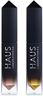 【プライムデー記念発売】HAUS LABORATORIES 期間限定予約商品: Glam Attack Liquid Shimmer Powder Duo (Give 'Em Heaven)