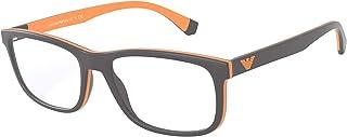 Emporio Armani EA 3164 MATTE GREY 54/18/145 men Eyewear Frame