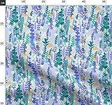 Lavendel, Rosmarin, Violett, Grün, Garten Stoffe -