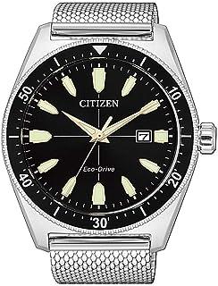 Citizen pour des Hommes Analogique Conduite économique Montre avec Bracelet en Acier Inoxydable AW1590-55E