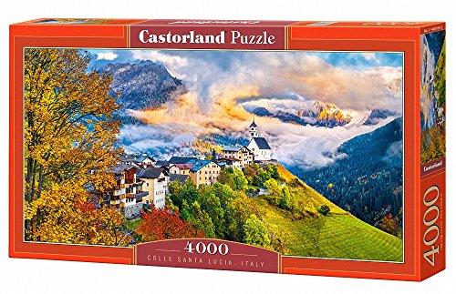 Castor Paese C 400164–2–Colle Santa Lucia, Italy, Puzzle 4000Pezzi