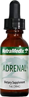 NutraMedix Adrenal Support Drops - Bioavailable Adaptogenic Herbs Liquid Tincture with Rhodiola Rosea, Ginseng, Astragalus...