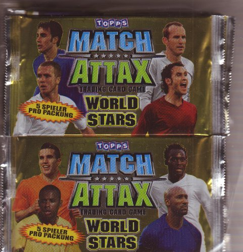 Match Attax World Stars Booster Display (50)
