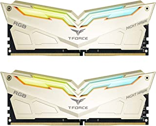 TEAMGROUP T-Force Night Hawk Legend RGB 3600MHz 32GB Kit (2x16GB) CL18 DDR4 SDRAM (PC4-28800) Desktop Memory Module Ram TF...