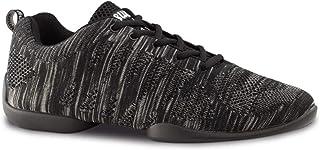 Anna Kern Hombres Zapatos de Baile/Dance Sneakers 4025 Bold - Gris/Negro - Suela de Sneaker
