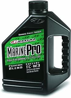 Maxima (259128) Marine Pro 2-Stroke TC-W3 Premix/Injector Oil - 1 Gallon