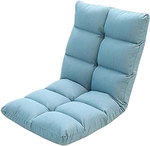 GRJH® Sitzsack, zusammenklappbar japanischen Stil Sessel Schlafzimmer Erker Sitzgelegenheit sitzen tragbar,Zusammenklappbar (Farbe : #1)