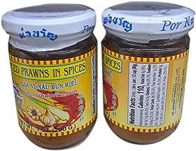 Por Kwan Sliced Prawns in Spices Gia Vi Nau Bun Rieu 虾肉香料 7oz - Total of 8 packs