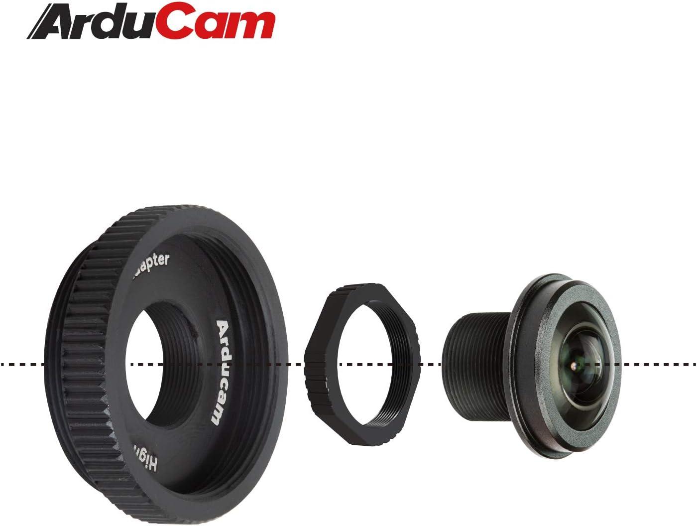 Arducam 180 Grad Fischaugen M12 Objektiv Set Für Kamera