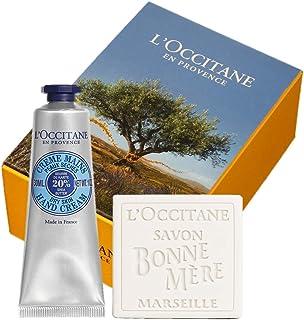 ロクシタン(L'OCCITANE) シア ハンドクリーム&ボンメールミルクソープ セット