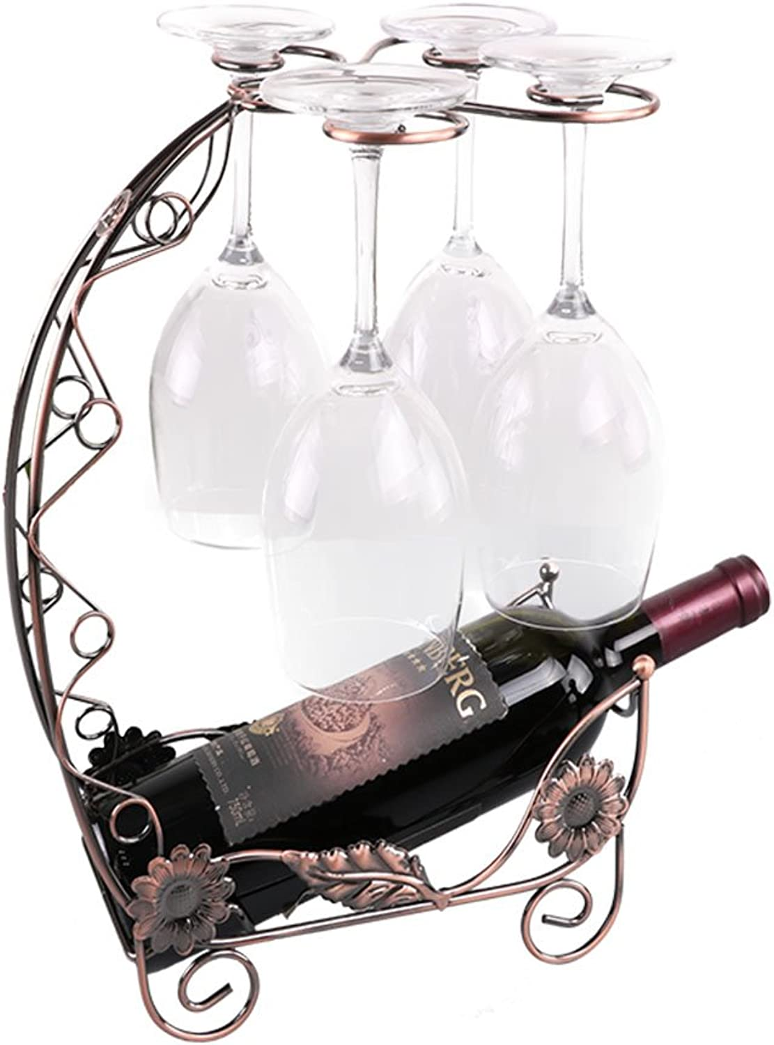 Tony home- Creative Wine Rack Decoration Red Wine Glass Shelf Hanging Wine Goblet Holder Household Wine Cabinet Wine Rack Wine Cabinets