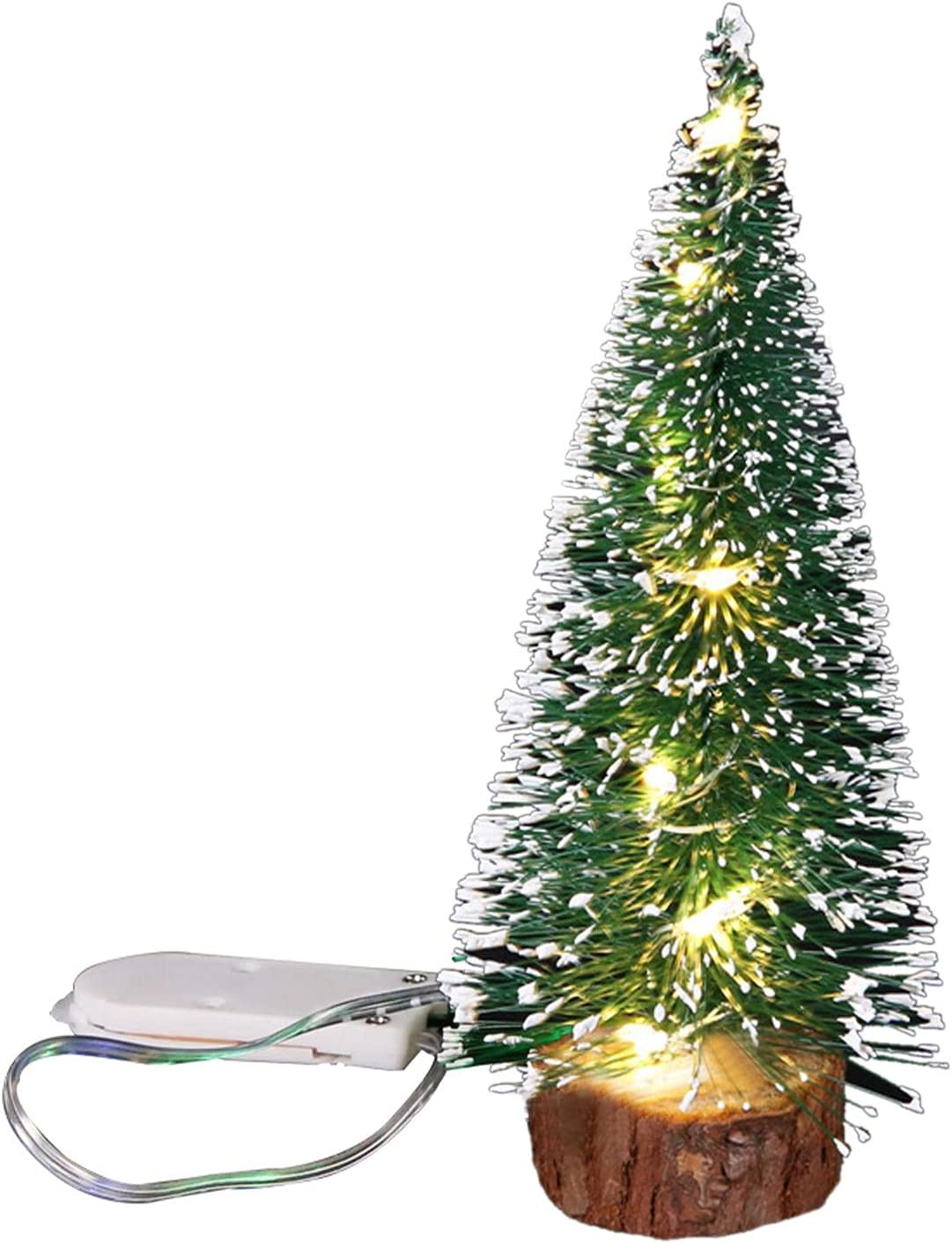 Mini Christmas Trees LED Super popular specialty store Artificial Miniature Si Superior
