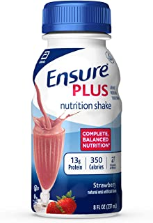 ensure plus strawberry 24 pack