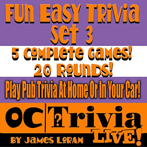 Fun Easy Trivia, Set 3 audiobook cover art