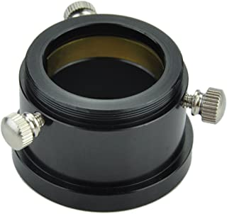"""Gosky T Thread to 1.25"""" Adapter (M42x0.75-1.25inch) - with Dual Clampscrews and Compression Ring"""