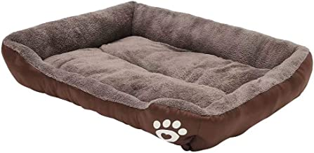 Auboa Small Medium Large Dog Cat Bed Extra Plush Sofa Style Couch with Pillow for Pet House Crate Kennel