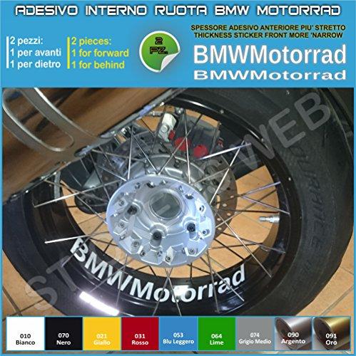 Aufkleber für Motorradfelgen, Schriftzug