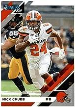 Nick Chubb 2019 Donruss Football 48 Card Lot Cleveland Browns #66