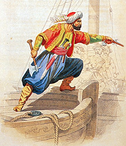 The Poster Corp Science Source – Turgut Reis Ottoman Admiral and Privateer Kunstdruck (60,96 x 91,44 cm)