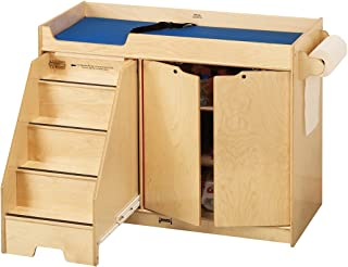 Jonti-Craft 5131JC Changing Table with Stairs, Left