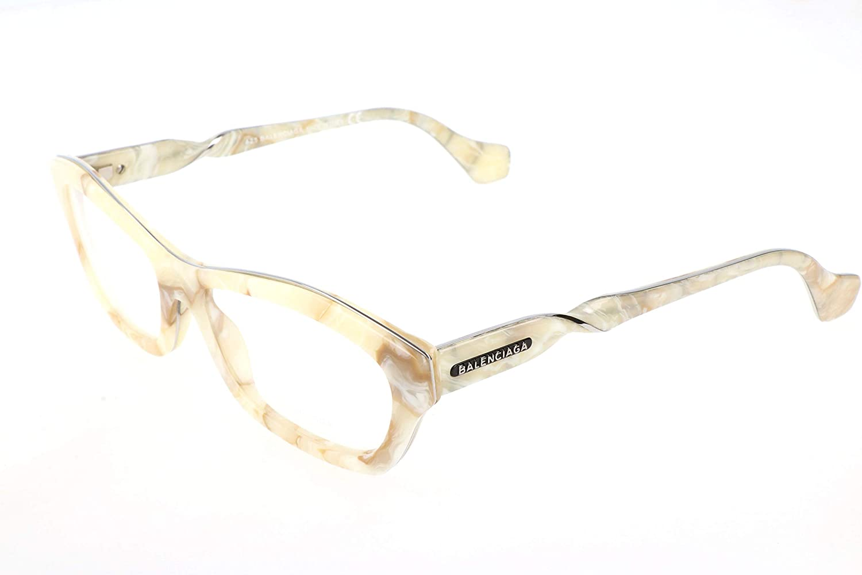 Balenciaga  BA5039, Cat Eye, acetate, women, MURBLED IVORY(024 B), 55 16 140