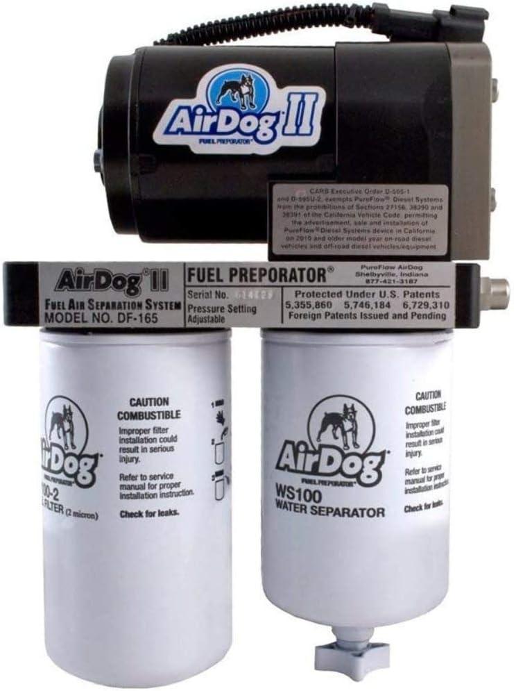 AirDog Mail order cheap 6.6 6.6L Duramax Ranking TOP3 Diesel 100 GPH Pump Lift 2001-20 Filter