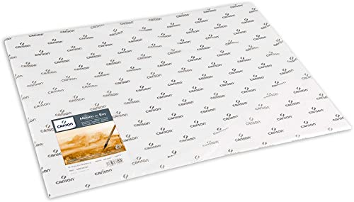 tienda hace compras y ventas Papel de de de acuarela Canson Moulin du Roy, Color blanco rau 56 x 76 cm  preferente