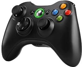 Zexrow Xbox 360 Controller,Wireless Game Controller Design Doppia Vibrazione con Ergonomico, per Microsoft Xbox 360 PC Win...