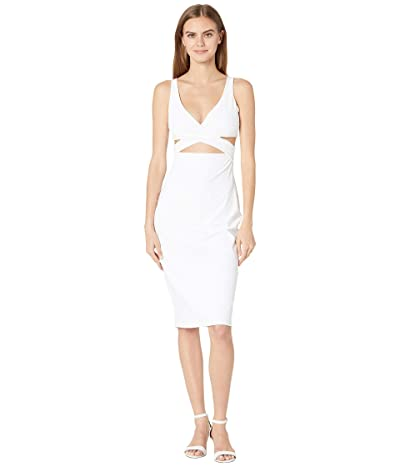 Susana Monaco V Front Crossover Dress