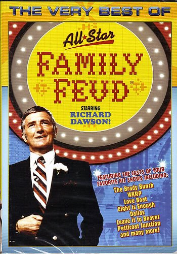 The Very Best Of The Family Feud : All Star Guest Stars...
