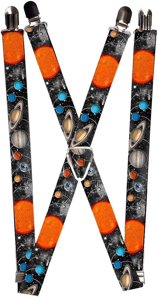 Buckle-Down Unisex-Adult's Suspender-Space