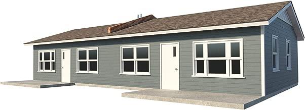 one bedroom duplex house plans