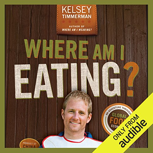 Where Am I Eating? audiobook cover art