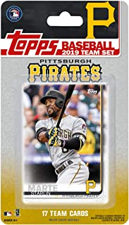 Pittsburgh Pirates 2019 Topps Factory Sealed Special Edition 17 Card Team Set with Starling Marte and Josh Bell Plus