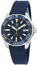 Tag Heuer Aquaracer Calibre 5 Automatic Blue Dial Mens Watch WAY201B.FT6150