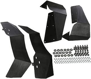 Set of 4 Front and Rear UTV Fender Flares Mud Flaps Splash Guards for 2015-2018 Polaris RZR-S 900 RZR-4 900 RZR-S 1000