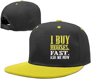 Baseball Cap Hip Hop Hats I Wanna Buy A House Boy-Girl