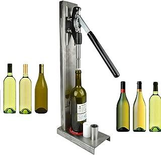 Manual Bottle Corking Machine Brew Wine Bottle Cap Pressing Machine 2 POM heads Suitable for 200ml / 375ml / 500ml / 750ml bottle